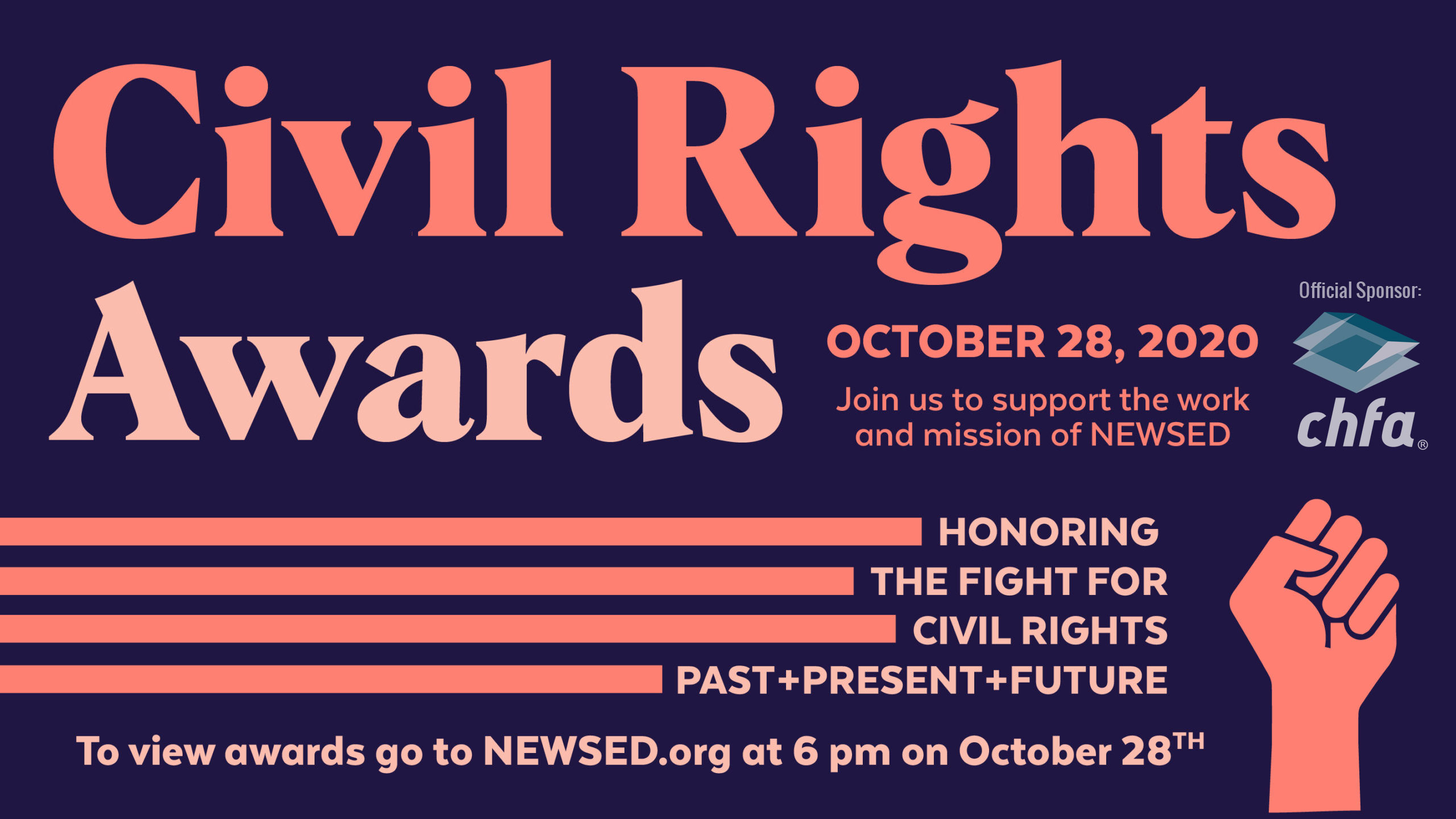Civil Rights Awards 2020 - October 28 virtual event